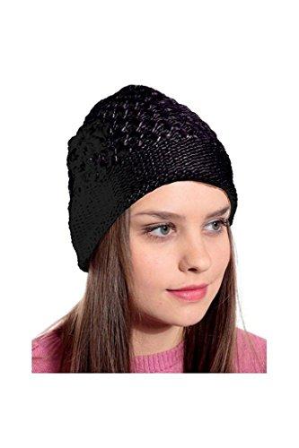 Krystle Designer/Stylish Women's Winter Woolen Cap Price in India