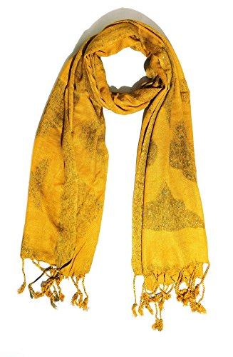 Sri Belha Fashions Women's Woven Kashmiri Shawls , Stoles Woolen Viscose Pashmina Shawls;Shawls for Women's & Girls Price in India