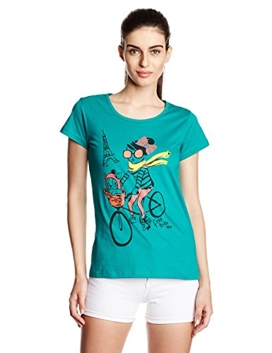 Cloth Theory Women's Graphic Print T-Shirt Price in India