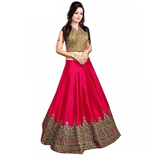 Lengha Choli for women new arrival western party wear semistitched Pink lehenga choli by Woman style Price in India