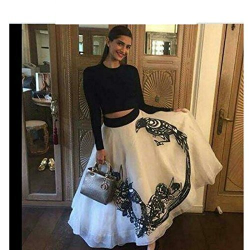 Jay Ambe Fashion Women'S Georgette With Blouse Piece Lehenga Choli Price in India