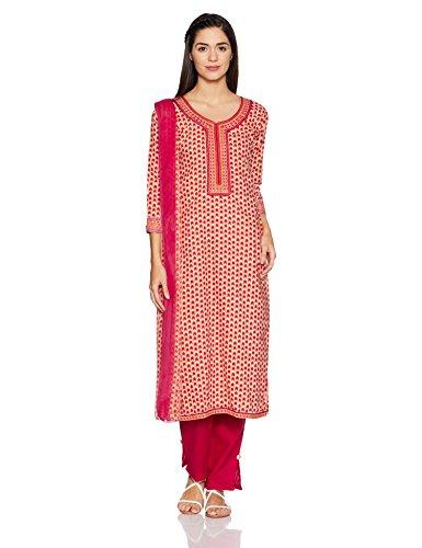BIBA Women's Dress Material Price in India