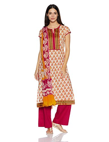 BIBA Women's Dress Material Price in India