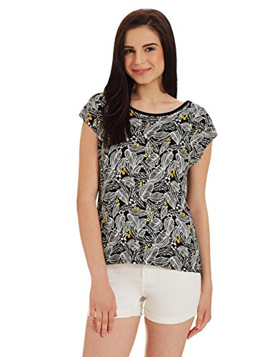 Unshackled Women's Floral T-Shirt Price in India