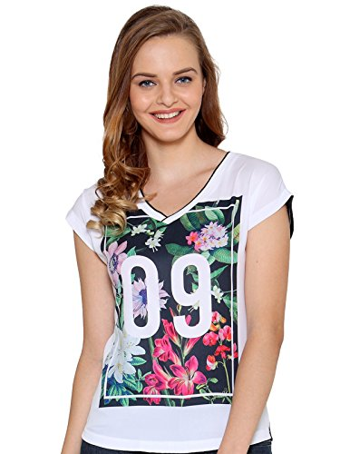 Unshackled Women's Printed T-Shirt Price in India
