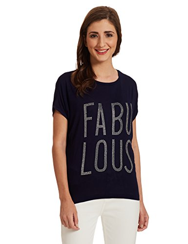 Unshackled Women's Slim Fit T-Shirt Price in India