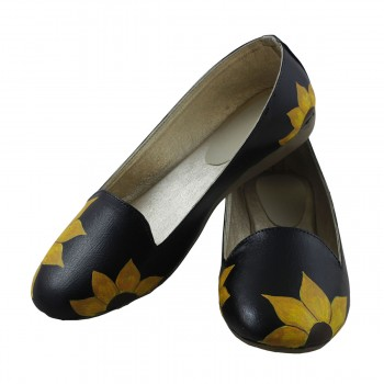 LazyBrats Artificial Leather Black Bellies - LB1379 Price in India