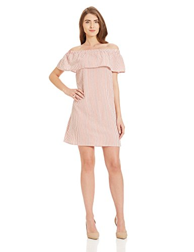 VERO MODA Women's Cotton A-Line Dress Price in India