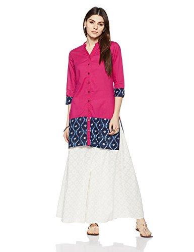 Myx Women's Straight Cotton Kurta Price in India