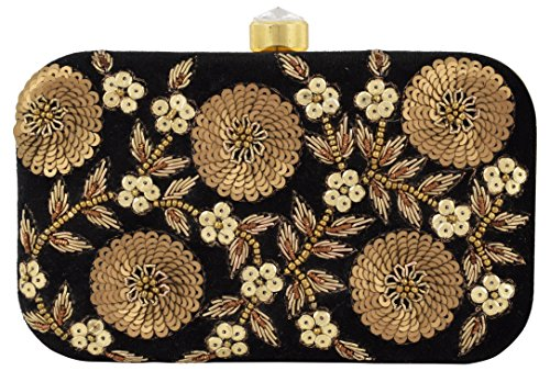 Tooba Handcrafted BLC5F Women's Box Clutch Price in India