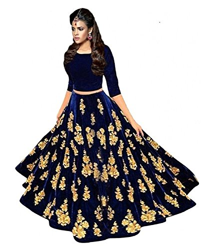 Lovisa Fashion Velvet Lehenga Choli Price in India