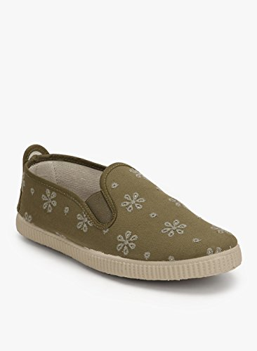 Scentra Women's Olive Moccasins - 4 UK/India Price in India