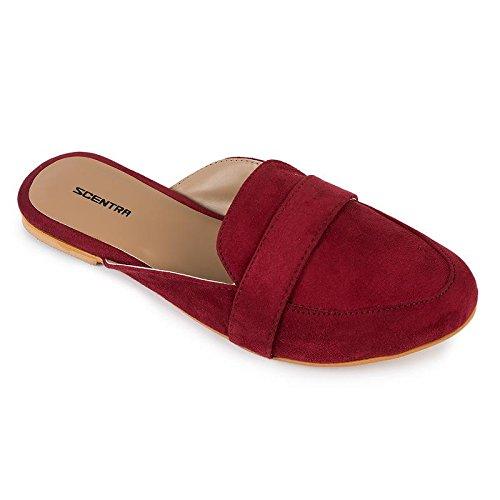Scentra Cherry Red Toe Slipper Price in India