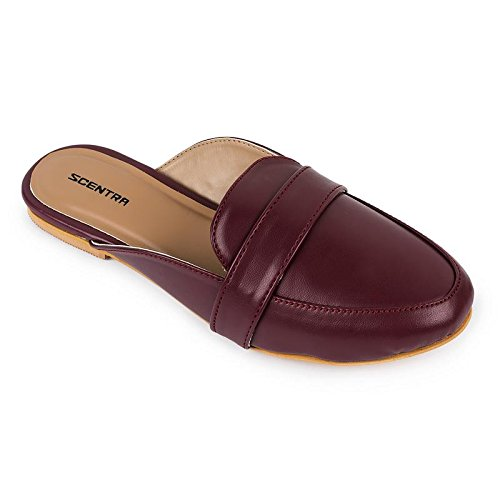 Scentra Marsala Toe Slipper Price in India