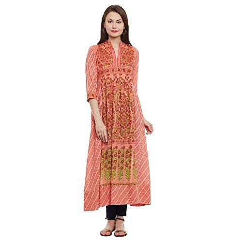 Ritu Kumar Women's A-Line Cotton Kurta Price in India
