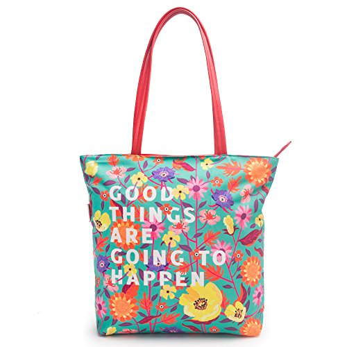 Chumbak Good Things Polyester Tote Bag Price in India
