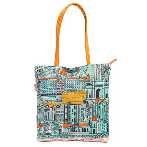 Chumbak City of Dreams Polyester Tote Bag Price in India