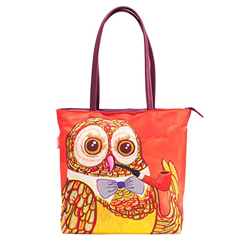 Chumbak Aristocratic Owl Tote Bag Price in India