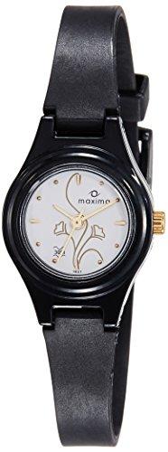 Maxima Fiber Analog White Dial Women's Watch - 01621PPLW Price in India
