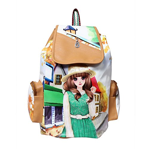 Gracetop Women's Backpack Handbag Price in India