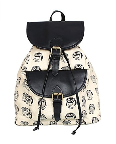 Lychee Bags Women Canvas Kacy Backpack Price in India