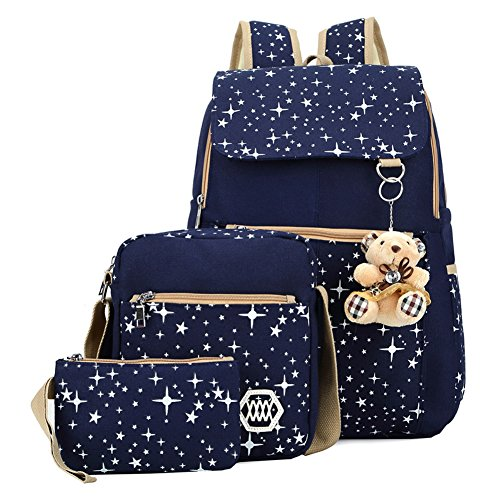 Rrimin Women's Combo Of 1 Backpack , 1 Cross Body Bag & 1 Wallet Price in India