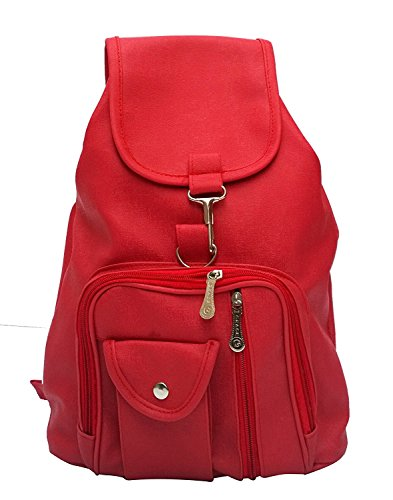 DAMDAM Stylish Leather Womens Casual Backpack Handbags Price in India