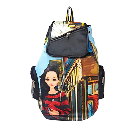 DAMDAM Designer Studded Backpack for Women/Girls Price in India