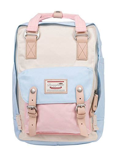 Doughnut Women's Macaroon Stylish Comfortable Quality School Backpack Multi Functional Compartment Affordable Fancy Waterproof Lightweight Pretty Fashionable Shoulder Bag Cute Girl Price in India