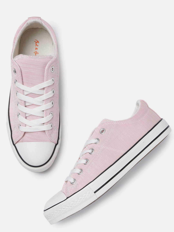 Mast & Harbour Women Pink Sneakers Price in India
