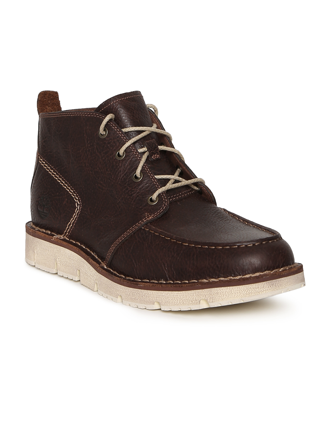 Timberland Women Dark Brown Leather Westmore Boots Price in India