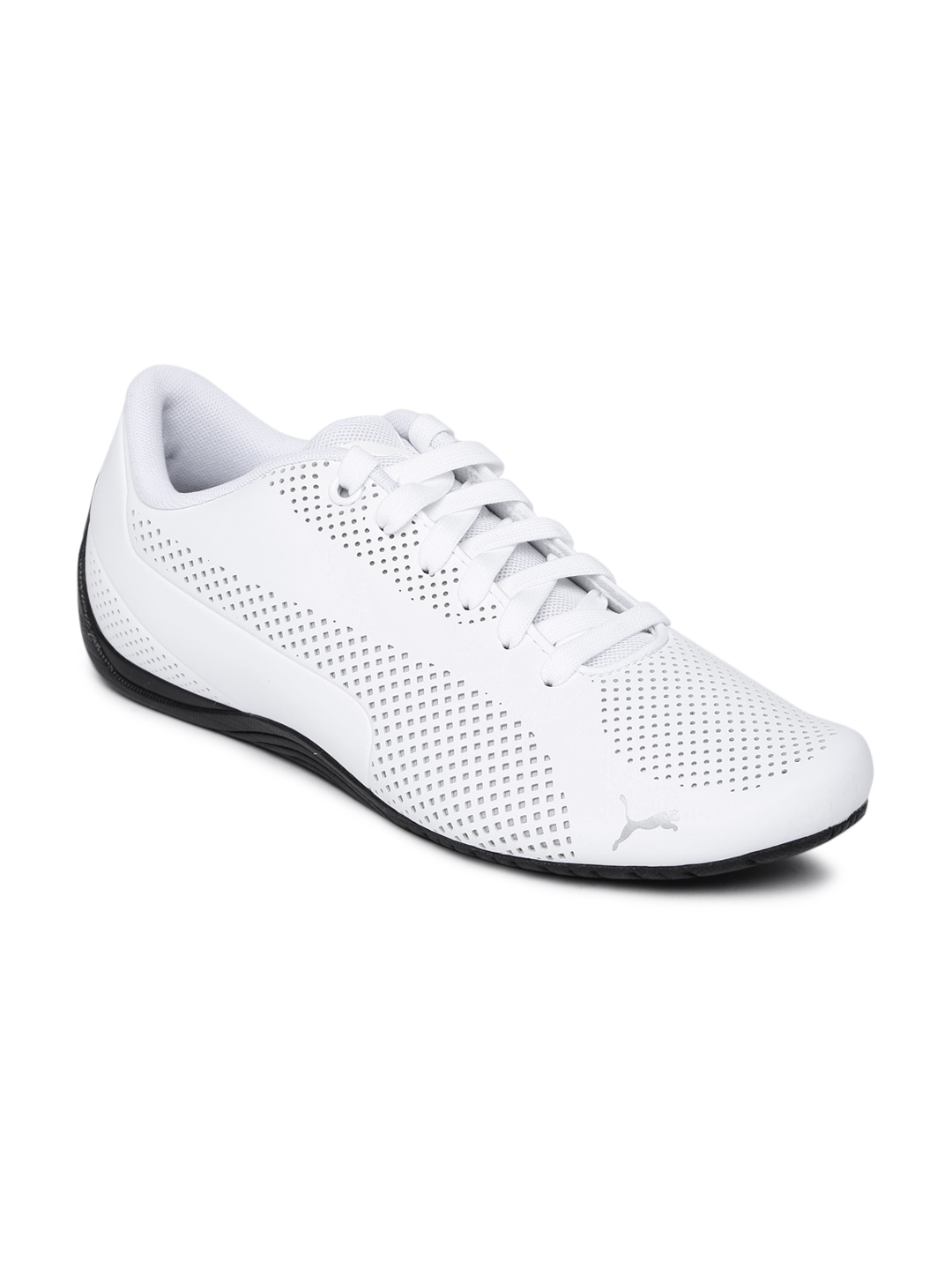 Puma Unisex White Sneakers Price in India