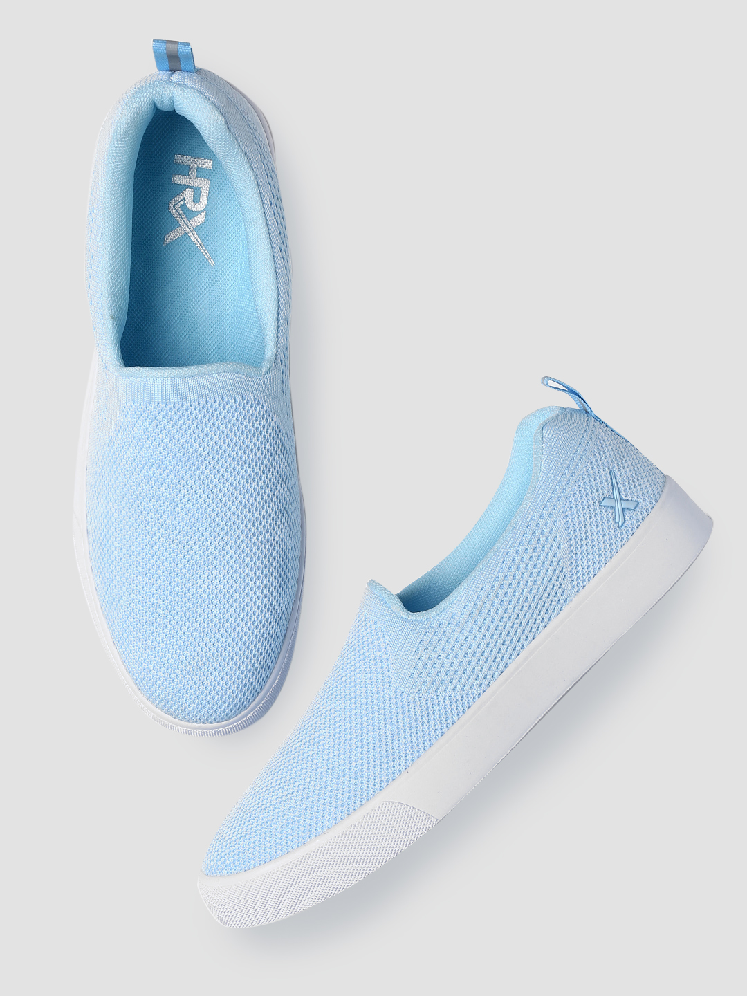 HRX by Hrithik Roshan Women Blue Slip-On Sneakers Price in India