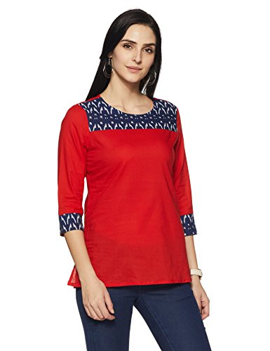 Amazon Brand- Myx Women's Straight Cotton Kurta Price in India