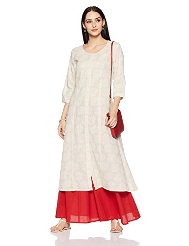 Rangmanch By Pantaloons Women's Straight Kurta Price in India