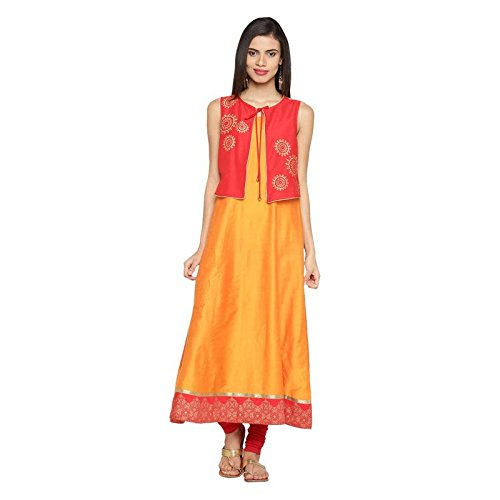Rangmanch by Pantaloons Women's Straight Fit Kurta Price in India