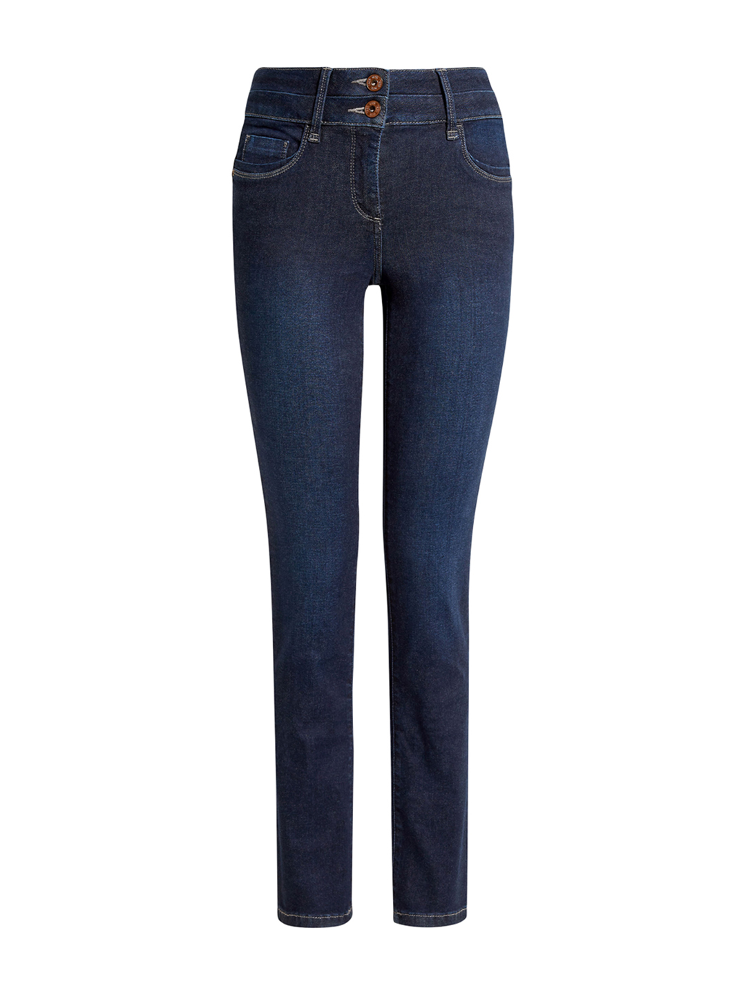 next Women Blue Slim Fit Mid-Rise Clean Look Jeans Price in India