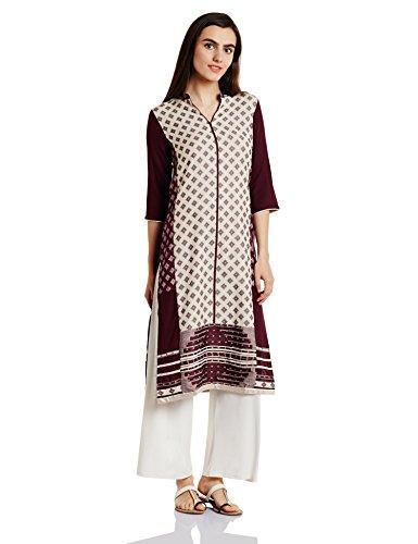 W for Woman Women's Straight Kurta Price in India
