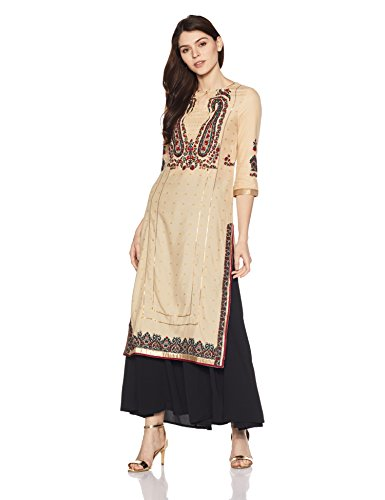 W for Woman Women's Straight Kurta Price in India