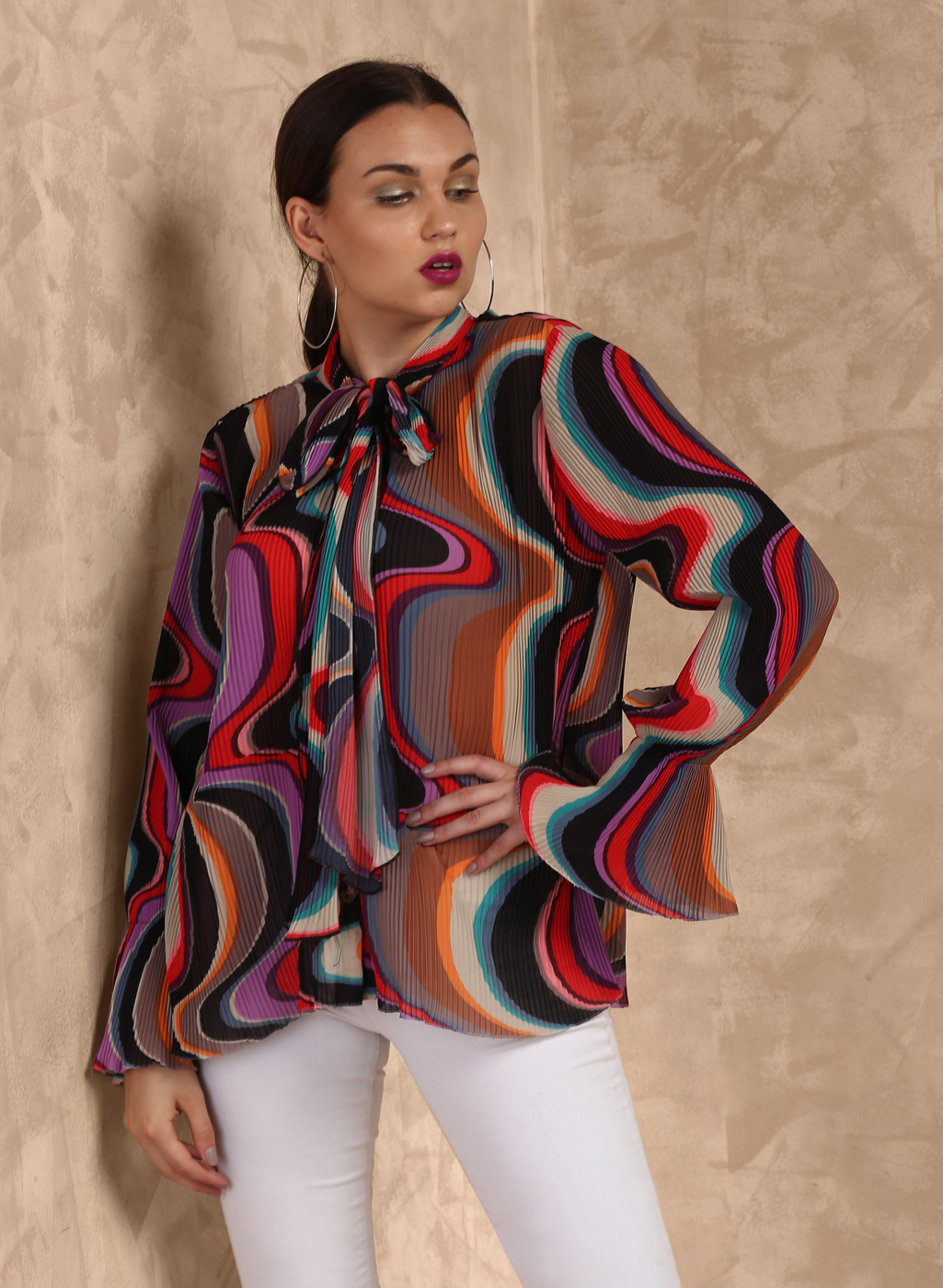 Multi Printed Blouse Price in India