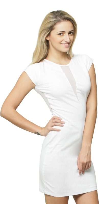Miss Chase Women's Bandage White Dress Price in India