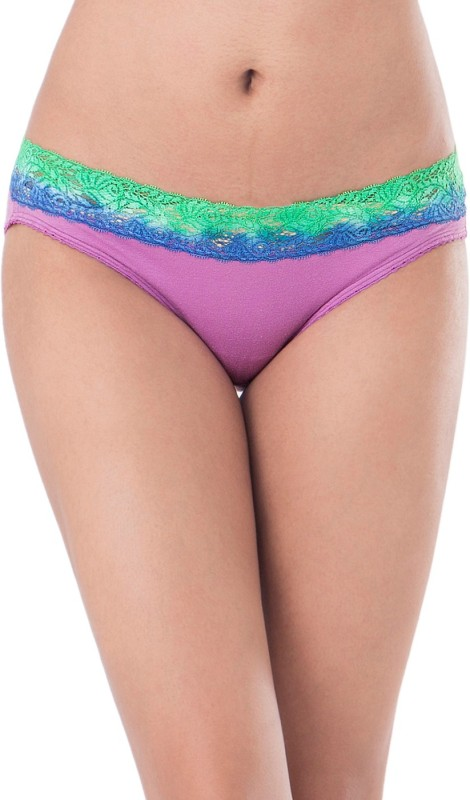 PrettySecrets Women's Bikini Purple Panty(Pack of 1) Price in India