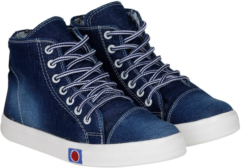 Kraasa StepUp Boots, Party Wear, Sneakers(Navy) Price in India