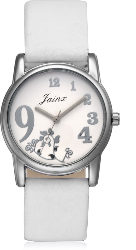 JAINX JWR505 White Dial Analog Watch  - For Women Price in India