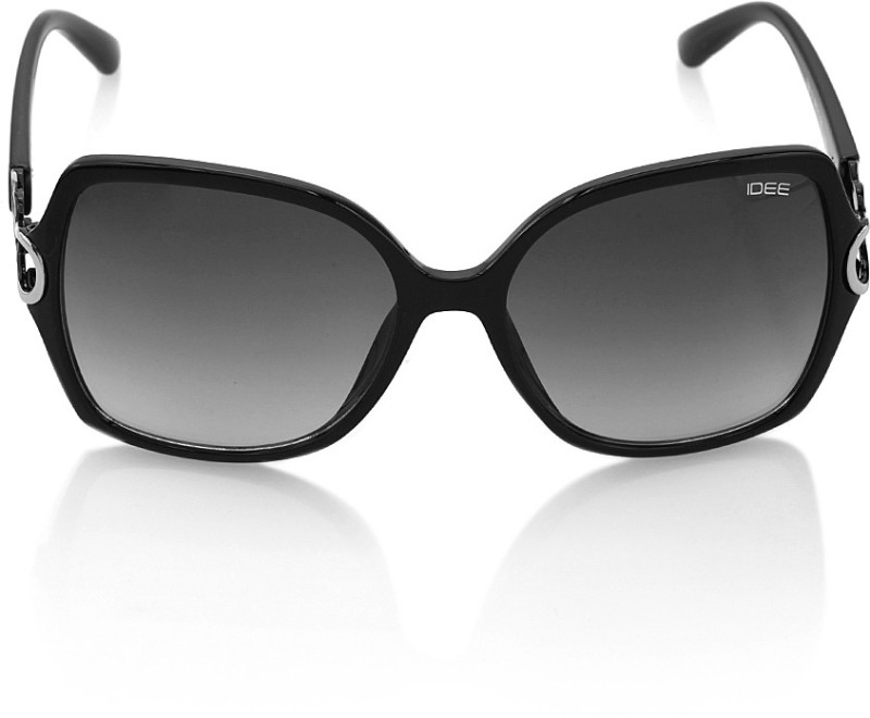 IDEE IDS2084C1SG Over-sized Sunglasses(Grey) Price in India