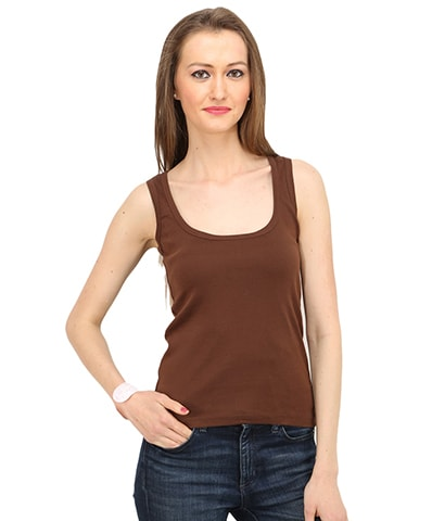 Women's Chocolate Tank Top