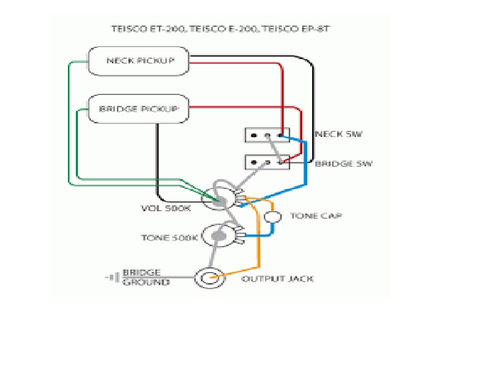 Teisco Spectrum 4 Wiring Diagram - Complete Wiring Schemas