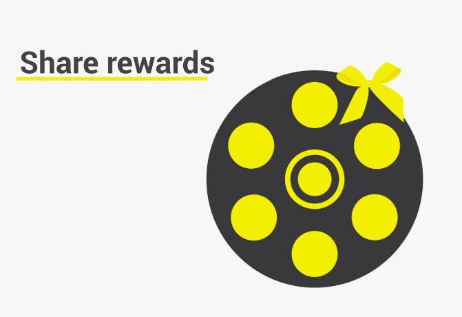 Graphic representing reward crowdfunding