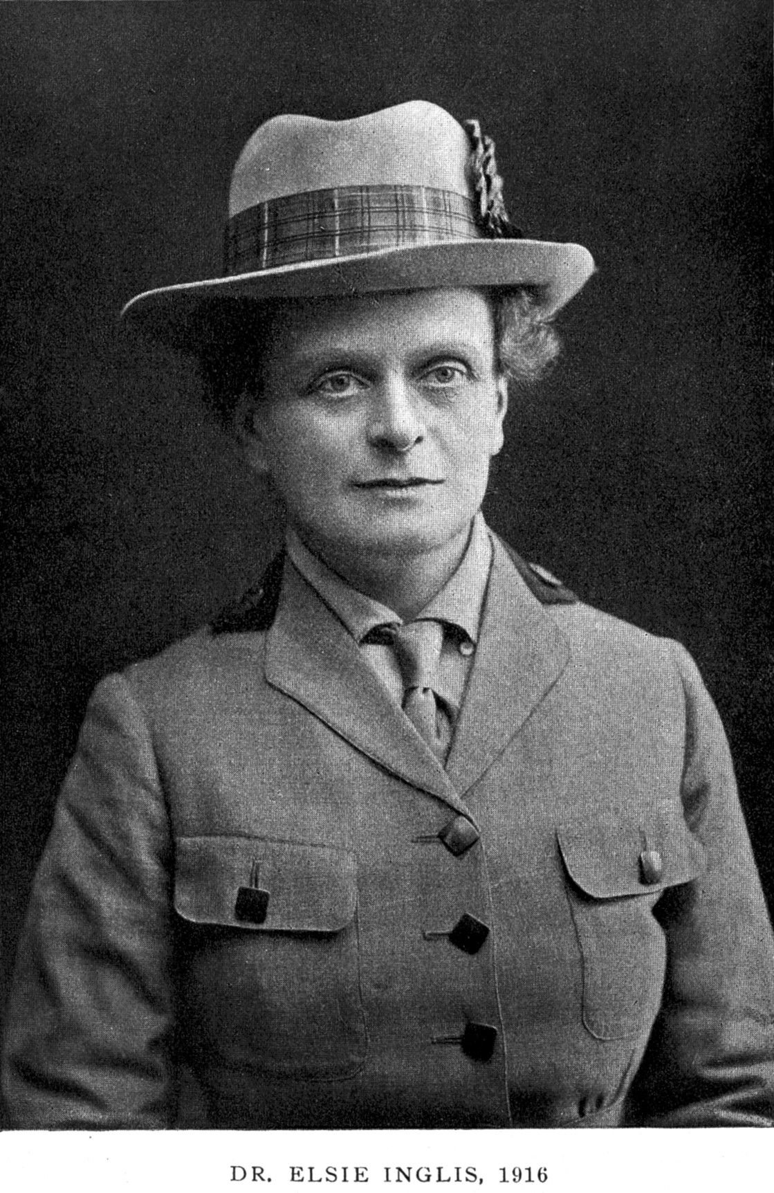 Elsie Inglis from Wikicommons