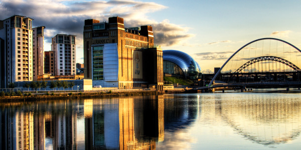 Newcastle city landscape